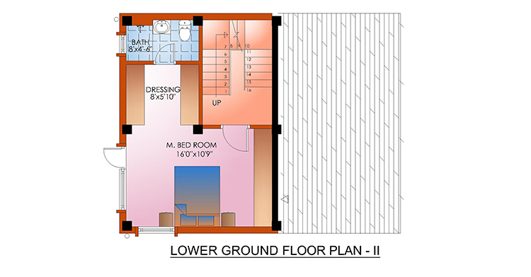 Lower Ground Floor Plan II